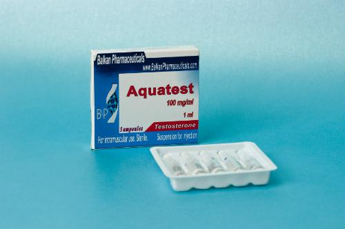 Aquatest CS Balkan Pharmaceuticals Ltd. (Moldova) 5 Ampoules
