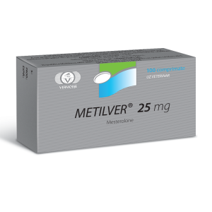 Metilver (Methyltestosterone) 25 mg 100 Tabs