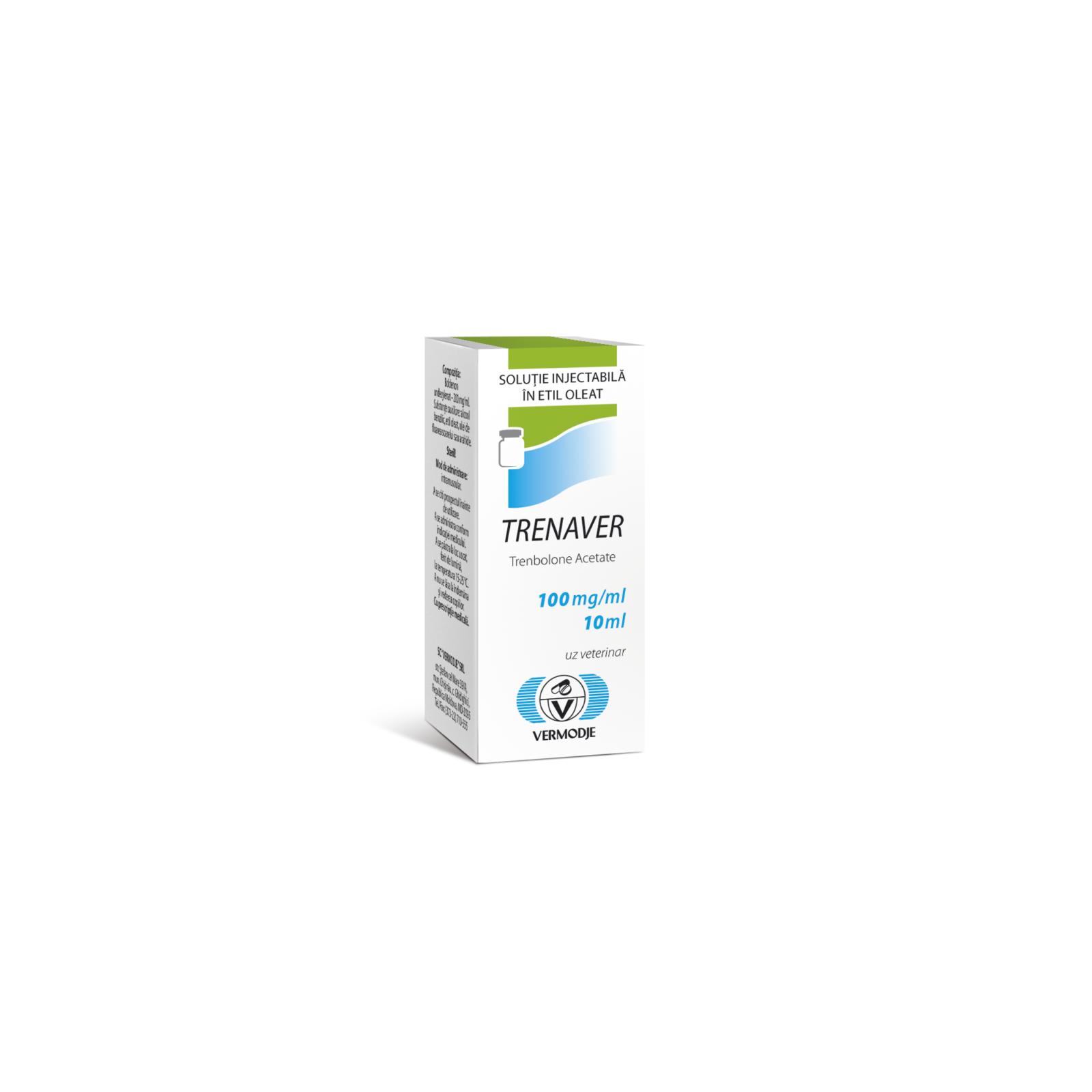 Trenaver (Trenabolone Acetate) 100 mg/ml 10 Vial