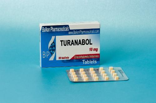 Turanabol (Clordehidrometiltestosterone) 10mg/Tab, 60 Tabs