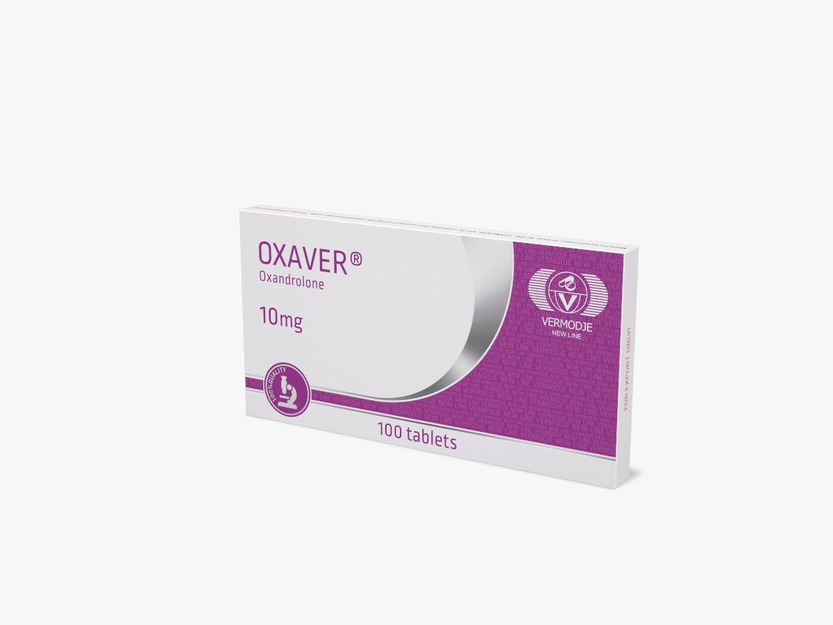 Oxaver 10 mg Vermodje New Line